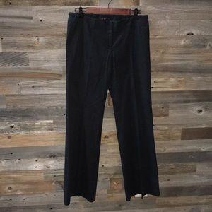 Theory wide leg black pant SZ 8
